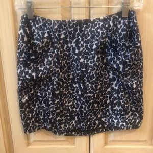 BCBG Generation leopard skirt